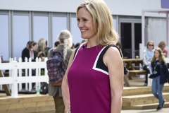 Sophie Raworth at RHS Chelsea Flower Show 2017
