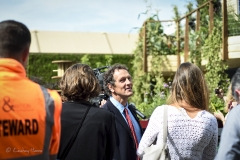 Monty Don at RHS Chelsea Flower Show 2017.