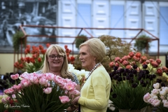 Mary Berry at RHS Chelsea Flower Show 2017