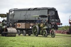 Steam locomotive at Great Dorset Steam Fair 2017.