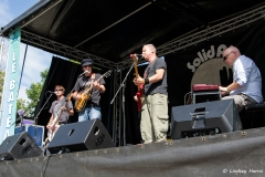 The Syghtseers at Grooves on the Green 2015.