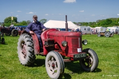 Three Okefords Steam Rally 2015 – steam tractor registration number MOD 530.