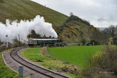 Swanage Railway Spring Steam Gala 2017 -