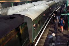 Swanage Railway Spring Steam Gala 2017 - Corfe Castle Railway Station