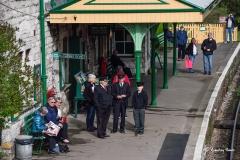 Corfe Castle Station.