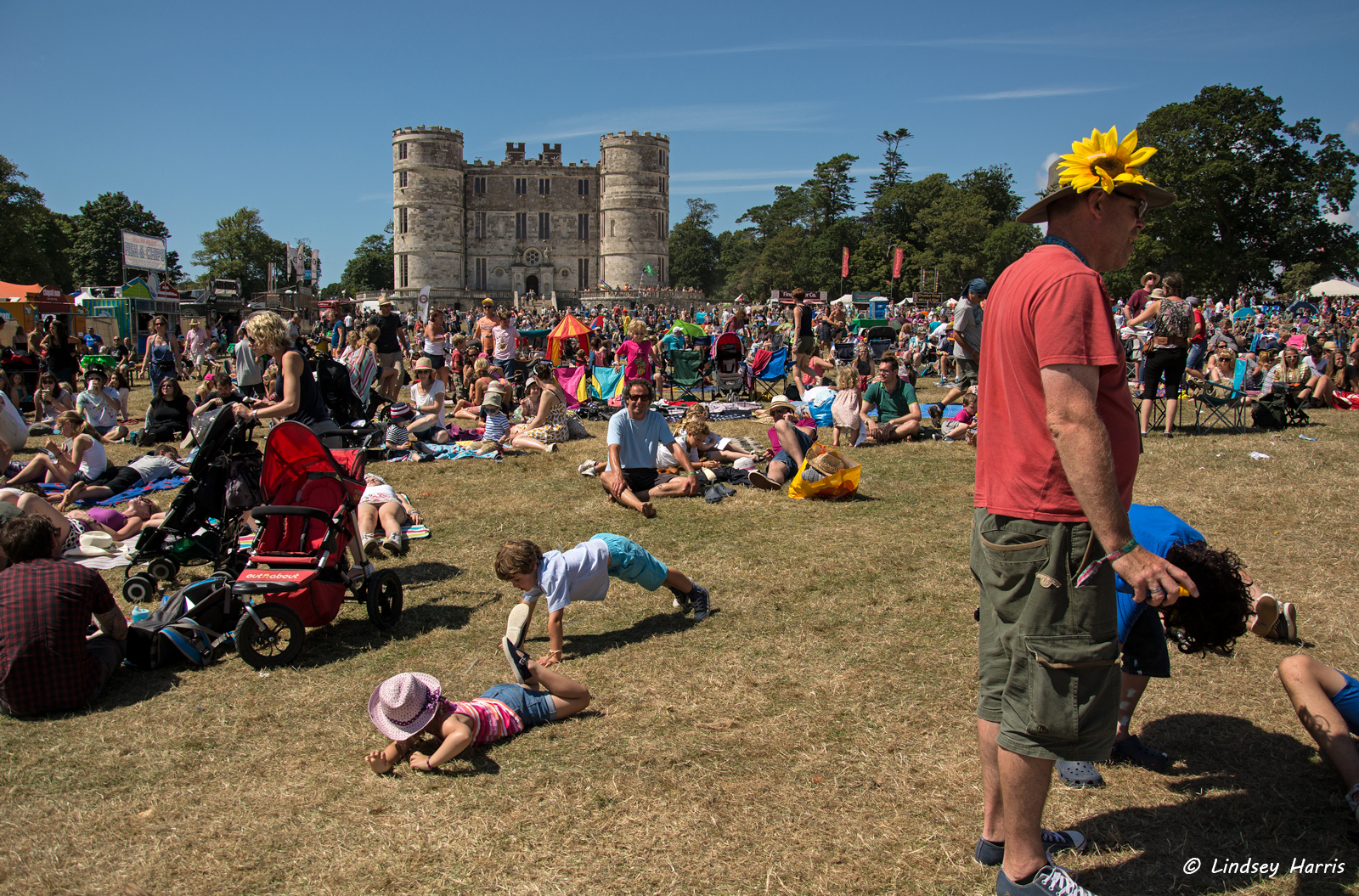 Camp Bestival 2014, Lulworth, Dorset.