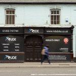 'Rude' sex shop, Lower Parkstone