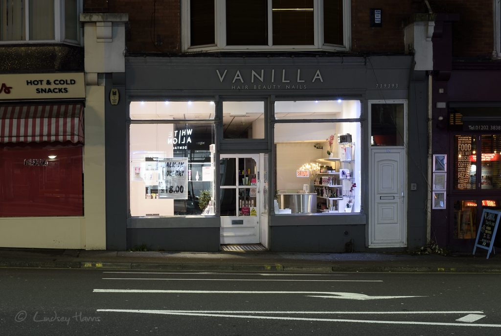 Vanilla, Lower Parkstone.