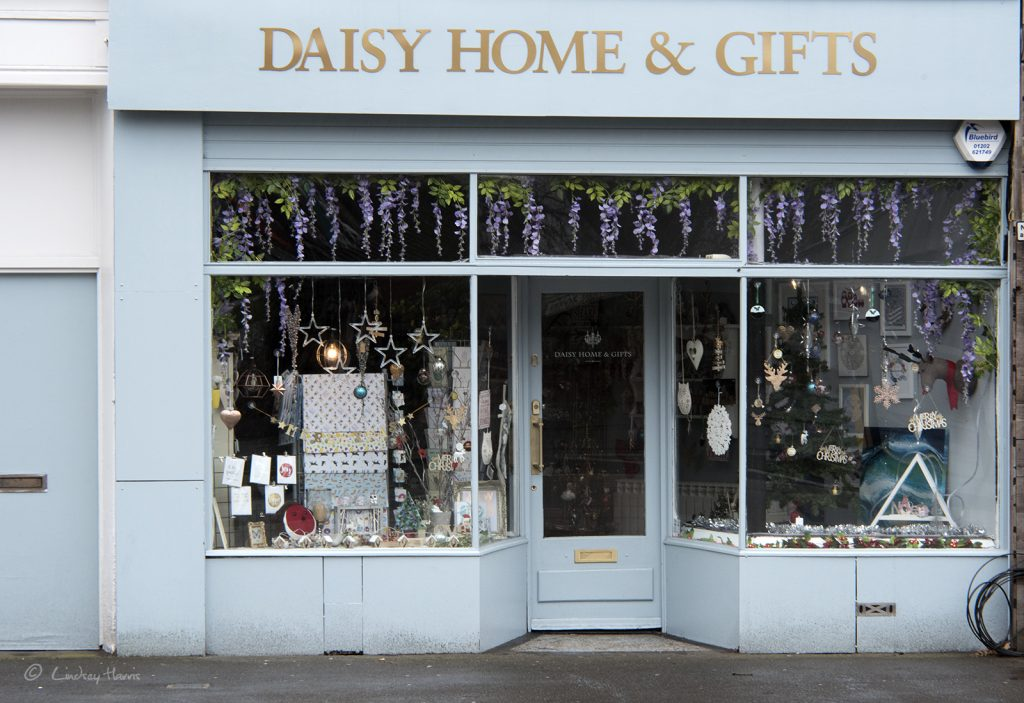 Daisy Home & Gifts, Lower Parkstone. Photo taken in December 2017.