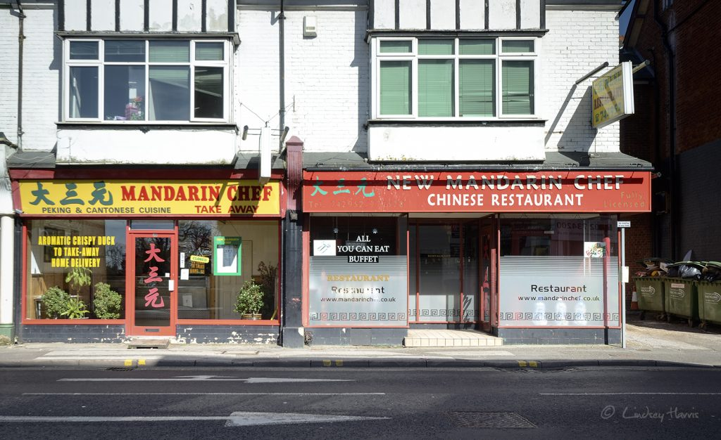 The Mandarin Chef , Lower Parkstone. Photo taken in March 2015.