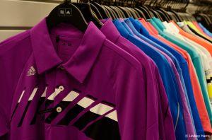 Golfing shirts