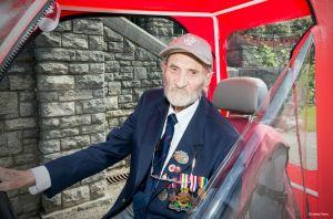 Geoffrey Vines, D-Day Juno Veteran.