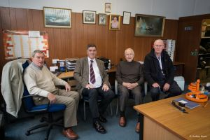 Staff of the SSAFA office, 2014. Church Road, Lower Parkstone, Poole