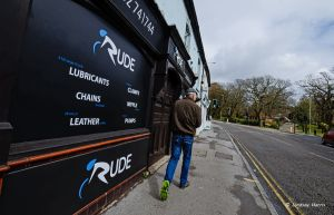 Ride turns into an 'adults only' store for April Fool's Day.