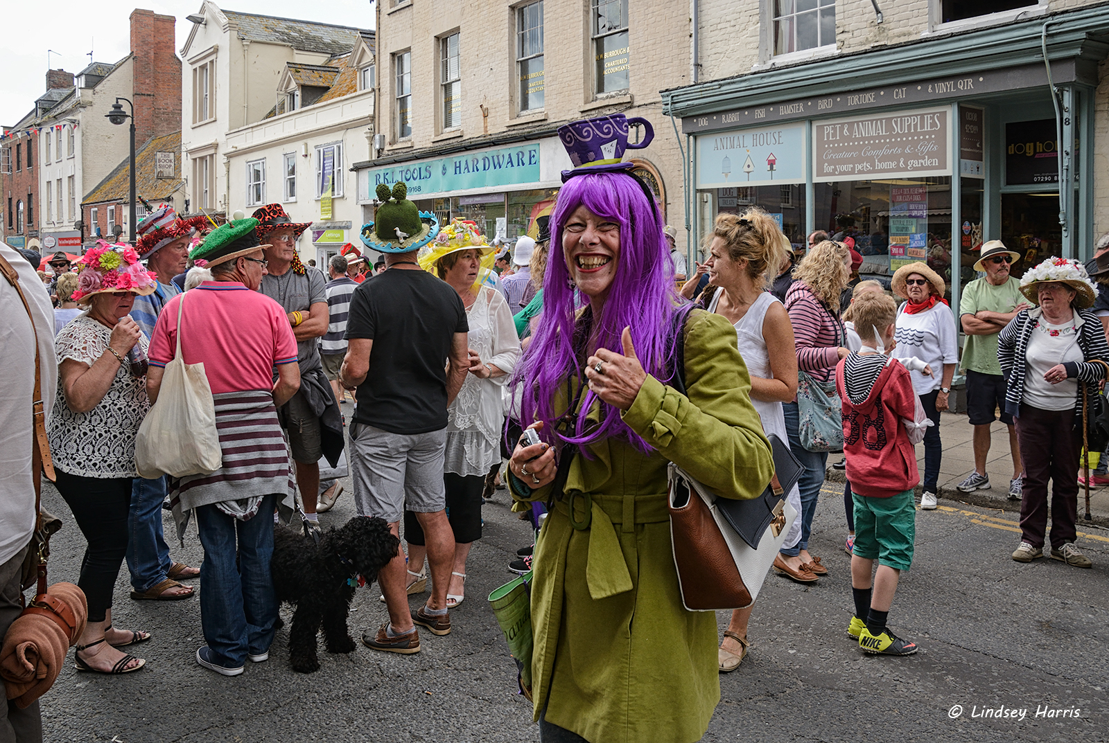 Festival of fancy hats in Dorset - would you put this on your head 81