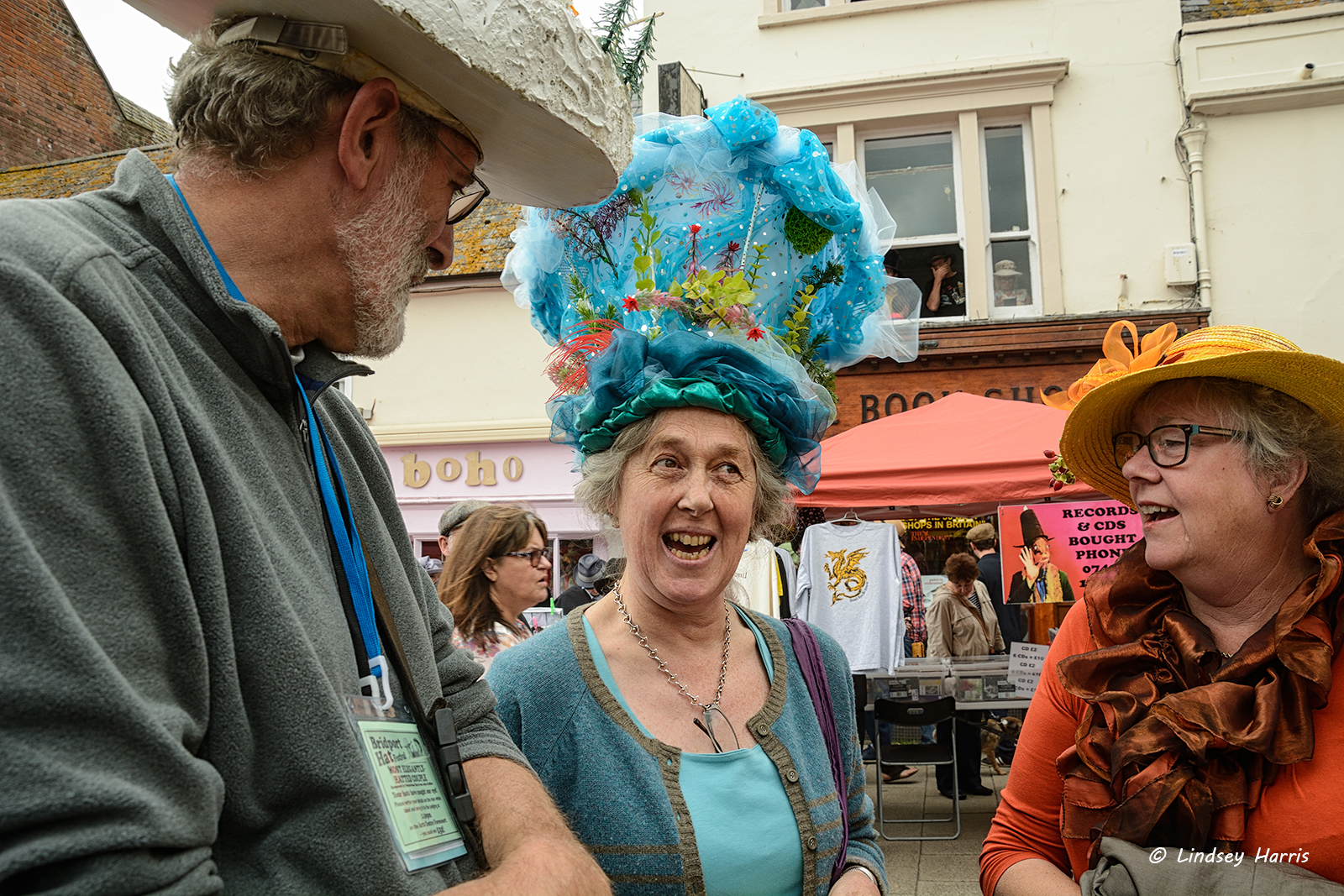 Festival of fancy hats in Dorset - would you put this on your head 99