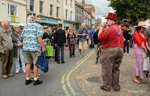 Bridport Hat Festival, Dorset, 2015.