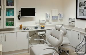 Dental Hygienist Mrs Lorraine Edwards's room