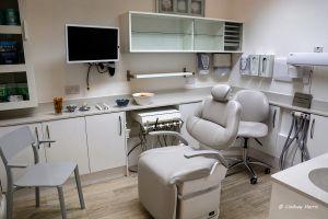 Dentist Dr Anthony Edwards's room