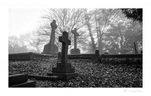 Christmas graveyard