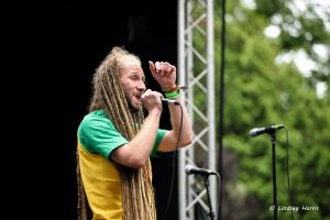 Dubheart at Grooves On The Green, Parkstone Park, Lower Parkstone, Poole. 9th July 2016.