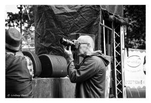 Grant David Read taking photos
