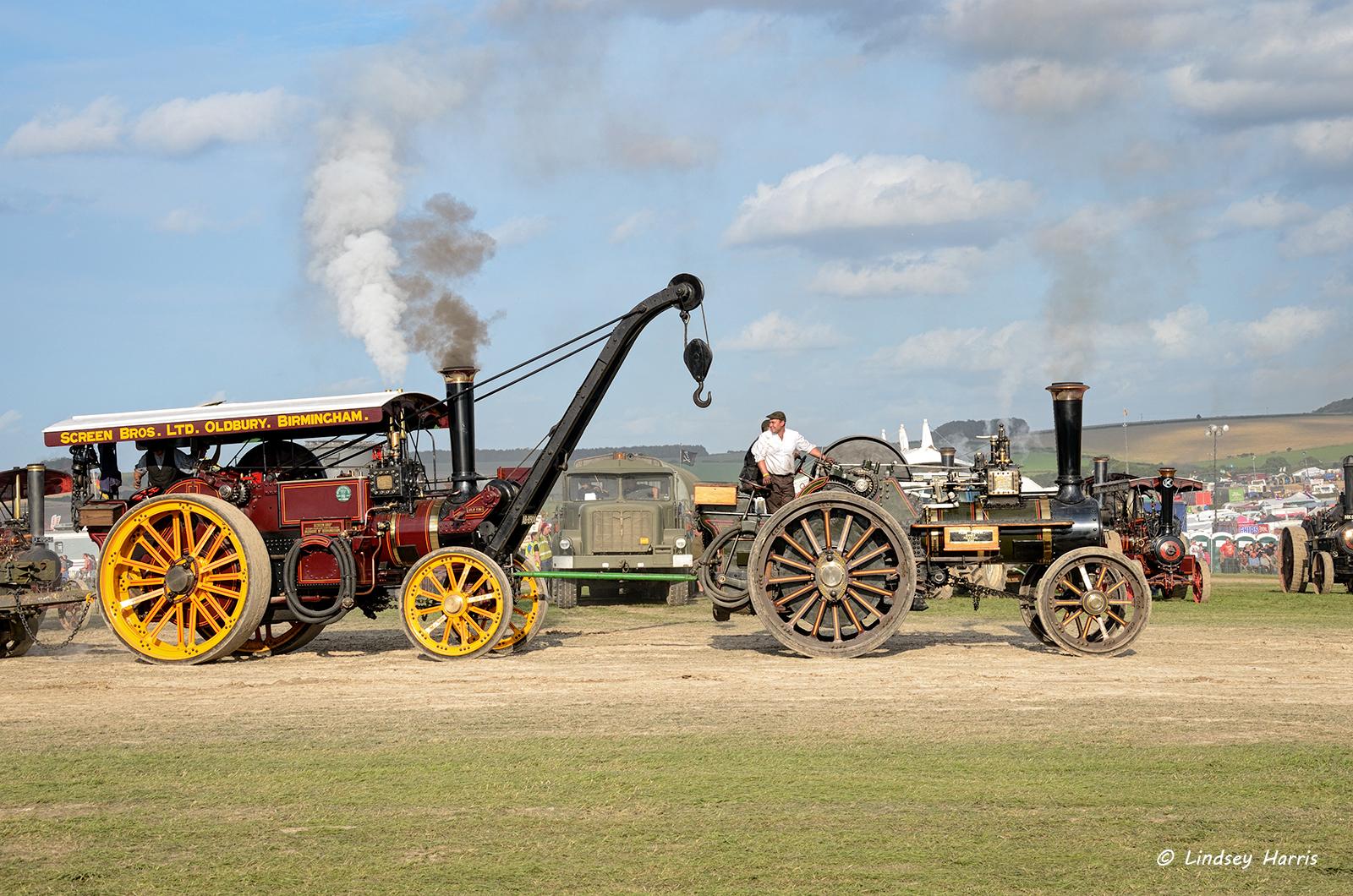 Great Dorset Steam Fair 2012 ! Photos by Lindsey Harris