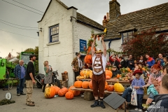 At The Square & Compass Pumpkin & Beer Festival, 2015.
