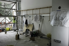Renovations start at Barker Dry Cleaning and Laundry, Lower Parkstone.