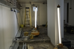 Ongoing renovations at Barker Dry Cleaning and Laundry, Lower Parkstone.