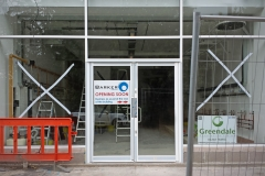 The shop is nearly read to open! Barker Dry Cleaning and Laundry, Lower Parkstone.
