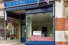 The Bay Tree Florist, Lower Parkstone. (NO LONGER TRADING). Phone photo taken June 2015.