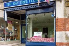 The Bay Tree Florist, Lower Parkstone. (NO LONGER TRADING). Phone photo taken June 2015.