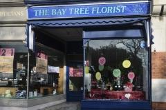 The Bay Tree Florist, Lower Parkstone. (NO LONGER TRADING). Photo taken in February 2015.