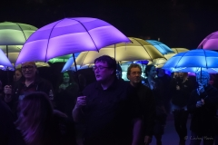 'The Umbrella Project', by Cirque Bijou. Bournemouth Arts by the Sea Festival 2017.