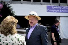 John Sergeant at RHS Chelsea Flower Show 2017.