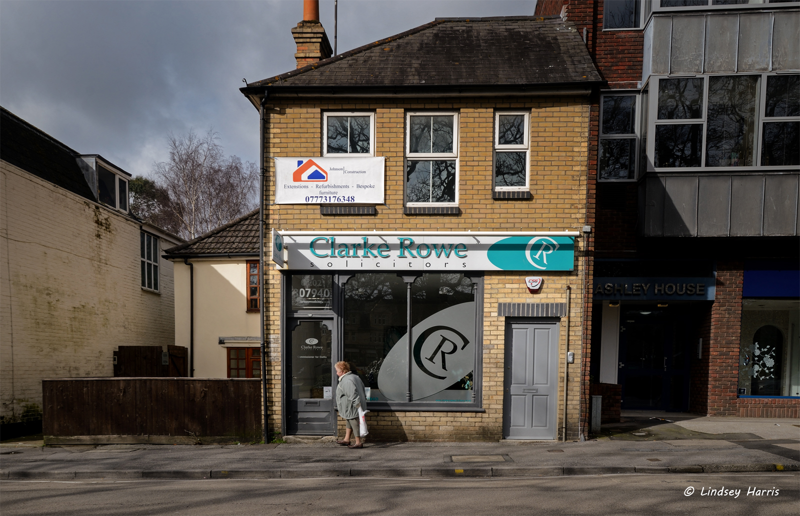 Clarke Rowe Solicitors, Lower Parkstone. Photo taken March 2015.