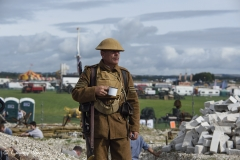 WWI Centenary Commemoration display at The Great Dorset Steam Fair 2017.
