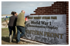 The Great Dorset Steam Fair - WWI Commemorative Display, 2014.