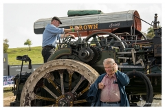 Old and new technology - The Great Dorset Steam Fair.