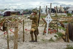 WWI Centenary Commemoration display at The Great Dorset Steam Fair 2015.