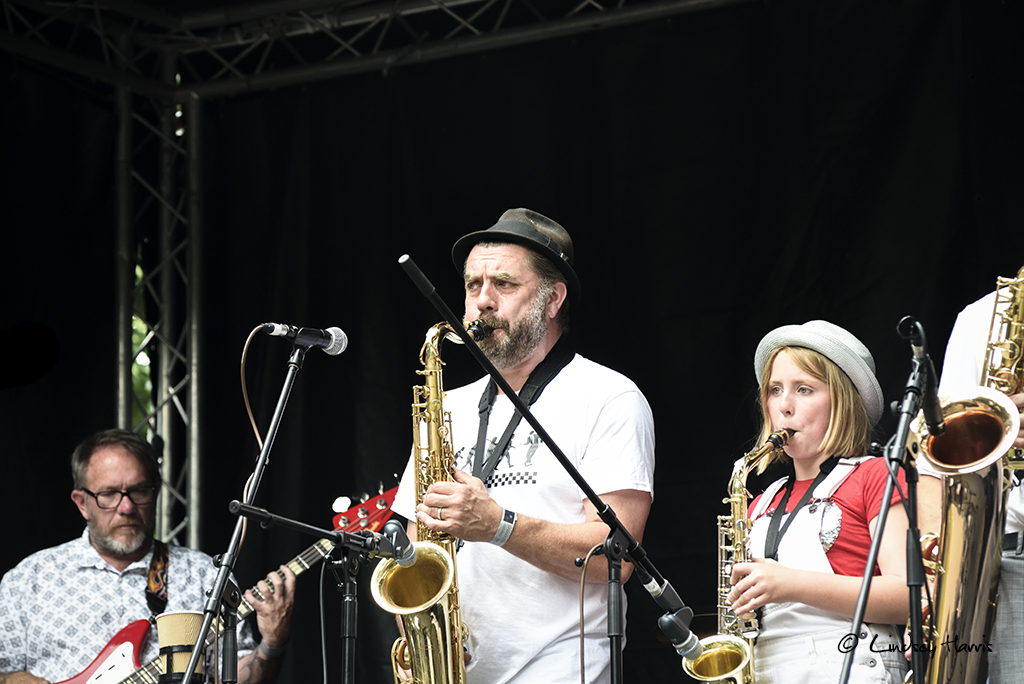 Guns of Navarone at Grooves on the Green 2017.