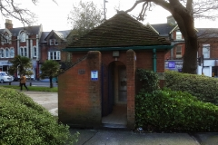 Parkstone Park Lavatories, Lower Parkstone. (NOW CLOSED).