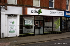 Exterior of Mint Indian Restaurant and Takeaway.