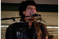 Mungo Jerry at Westbourne Christmas Lights switch on, 2014.