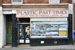 Plastic Past-Times, Lower Parkstone. This is when the shop was at 95 Commercial Road (it's now at 91b).