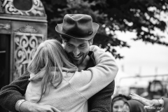 Big hug. Larmer Tree Festival 2016.