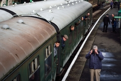 Swanage Railway Spring Steam Gala 2017 - Corfe Castle Railway Station