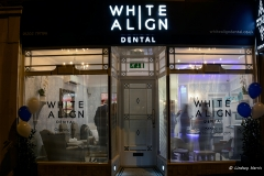 12th November 2015. The opening of White Align Dental, Lower Parkstone.