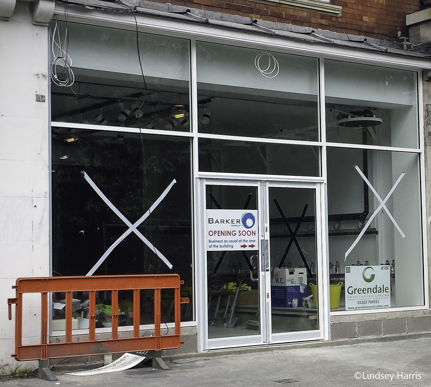 Barkers about to re-open after fire